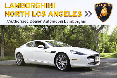 2011 Aston Martin Rapide Base Sedan 4-Door clear