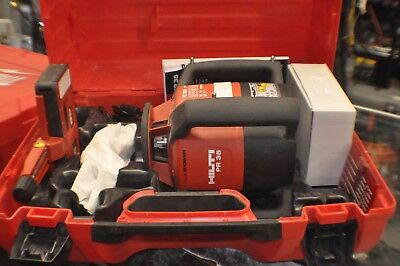 hilti pr 35 rotating laser w/case, manual, receiver, glasses, charger
