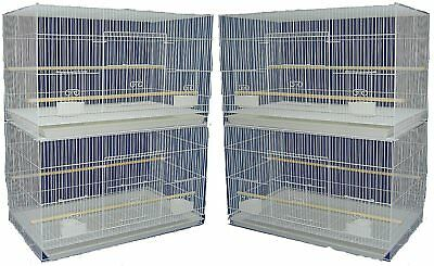 YML Medium Breeding Cages, Lot of 4, White