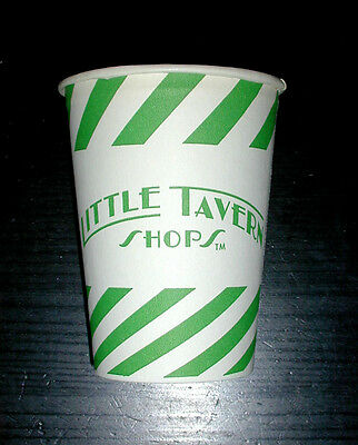 Vintage Little Tavern Paper Soft Drink Cup. New Old Stock