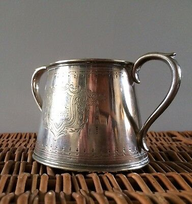 Antique, Elkington & Co., A1, Silver Plated, Two Handled Tankard.