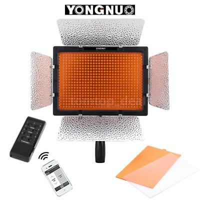 YONGNUO YN600L Photo Studio LED Video Light Lamp Panel for DSLR Canon Nikon V8H9