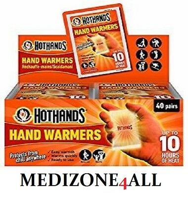 Hothands Hand & Foot Warmers Pocket Glove in 1 2 5 10 20 Pack **FREE UK POST**