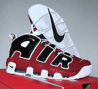 19bd3338ad74 ... NIKE AIR MORE UPTEMPO  96 Red Black Asia Hoop 921948 600 Chicago Bulls  Pippen 10