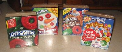 WOW !! '95-'97 VINTAGE Early Lifesavers Sweet Storybooks