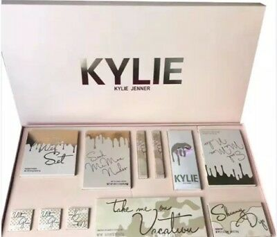 Kylie Jenner Vacation Box Kit with free gift of Anastasia make up pallette