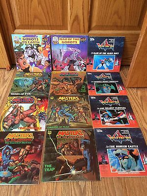 Masters of the Universe, GoBots, Voltron Golden Storybooks LOT OF 12 MINT!