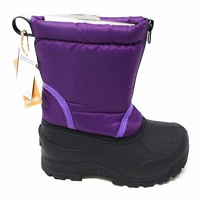 Northside Girls Icicle Cold Weather Winter Boot Purple Youth Little Kid Sz 1 M