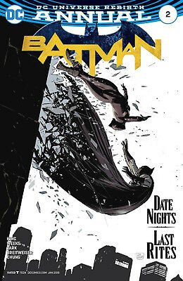 Batman Annual #2 Rebirth 1st Print / 1st Date with Catwoman (DC, 2017) New (NM)
