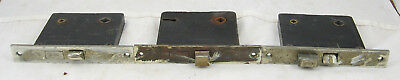 "Vintage Russwin Mortise Lock 5.5"" 5' 1/2 with Brass Faceplate"