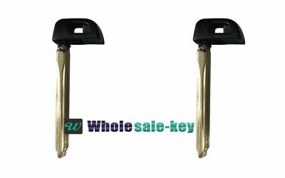 2XToyota Smart Emergency Key Prox Remote Blade Replacement Blank Insert HYQ14FBA