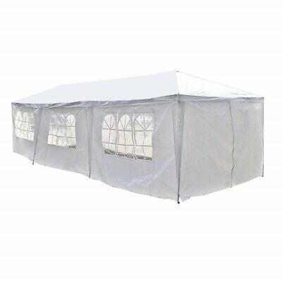 ALEKO Portable Garage Carport Car Shelter Party Tent Canopy 30 x 10 Ft White