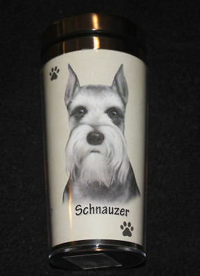 Schnauzer Dog Stainless Steel Insulated Travel Tumbler Thermos