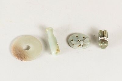 Group of Chinese Antique Jade Carving BON0199