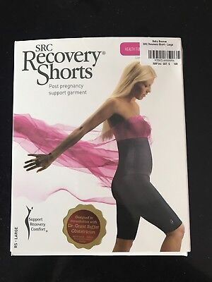 SRC Recovery Shorts - Post Pregnancy Support Garment - Size Large