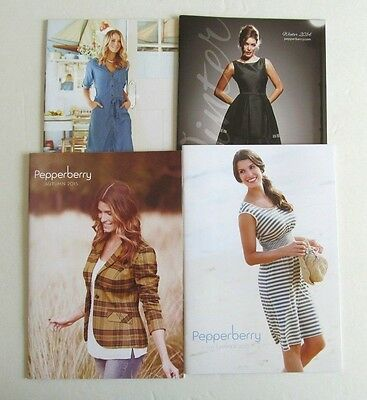 Lot of 4 PEPPERBERRY Catalogs - WOMEN'S FASHION & CLOTHING
