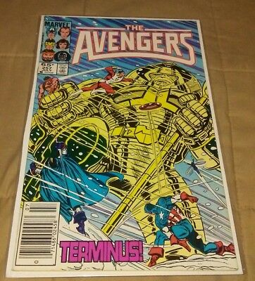 Avengers 257 VF KEY 1st appearance of Nebula from Guardians of the Galaxy Thanos