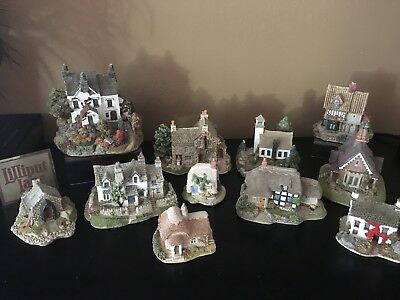 Lilliput Lane Lot of  12 Cottages including The Dalesman