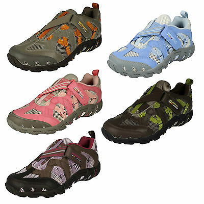 Childrens Girls Merrell Riptape Walking Trainers Sports Shoes Waterpro Z Rap