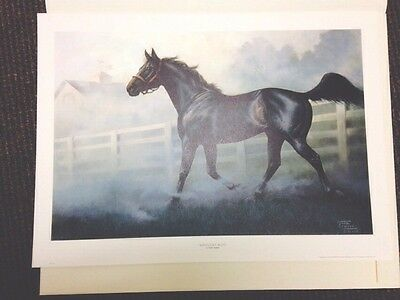 Chuck DeHaan KENTUCKY BLUE 1989 Signed/Numbered Limited/Edition/750 Lithograph