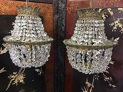Pair Of Antique French Chandeliers