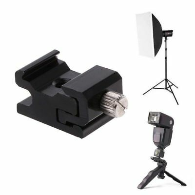 New Shoe Flash Bracket Stand Mount Adapter Trigger Holder Camera Accessories