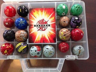 BAKUGAN BATTLE BRAWLERS BULK SET 1 includes cards and carry case