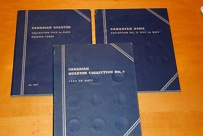 WHITMAN Canada Coin Albums.      Great Price