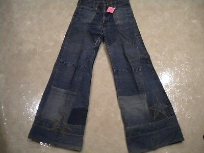 Vintage Hippy Bell Bottom Jeans