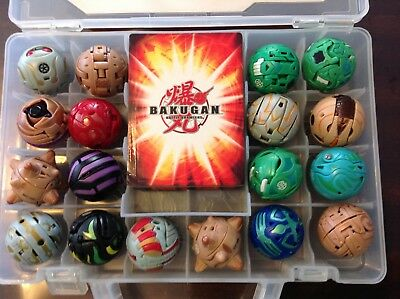 BAKUGAN BATTLE BRAWLERS BULK SET 2 includes cards and carry case