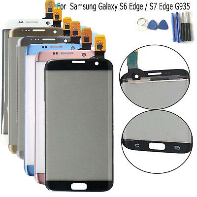 Front Touch Screen Digitizer +Tools Repair for Samsung Galaxy S7 Edge G935
