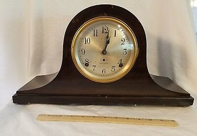 Antique Seth Thomas 8 Day Striking Mantle Clock *Classic Styling* w Key Pendulum
