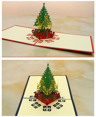 Deer-3D-Pop-Up-Handmade-Merry-Christmas-Greeting-Card