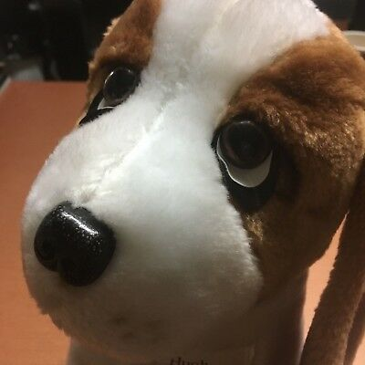 "Vintage Hush Puppies Hound Dog Long Ears Sad Eyes 12.5"" Plush Toy By Wolverine"