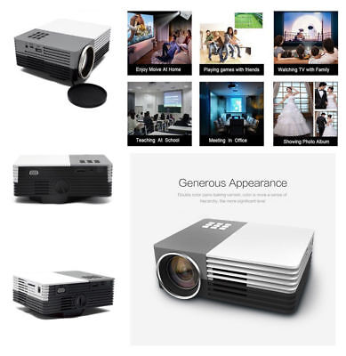 GM50 TS-50 Mini Projector HDMI Portable LCD Projecteur Home Theater
