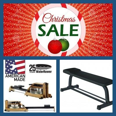 WATERROWER A1 GX  Water Rower - CHRISTMAS BONUS - FREE FLAT BENCH (Value $199)