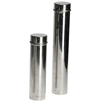 63x250mm 61x365mm Stainless Steel Disinfection Barrel For Lab Petri Dish