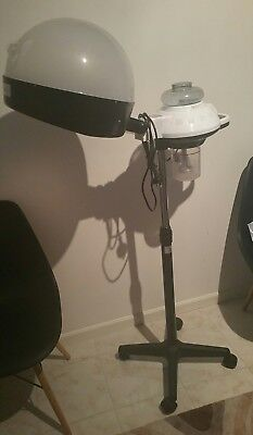 Professional Hair Steamer With Rolling Stand in excellent condition