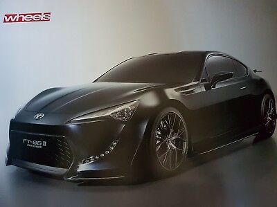 Toyota FT-86 Concept Double-Sided Poster