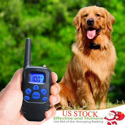 Anti Bark No Barking Collar Remote Shock Control For Small Medium Large Dog Pet