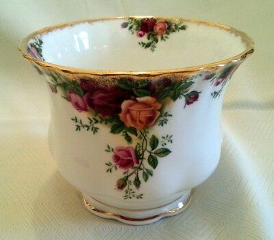 Royal Albert Old Country Roses Porta Vaso Cachepot porcellana inglese
