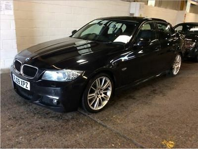 """09 Bmw 320D M-Sport Business Edition Full Leather, Climate, 18"""" Alloys, Sat Nav,"""