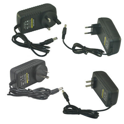 DC 12V 2A Adapter 100-240V Adapter Charger Power Supply USA/UK/EURO/AU Standard