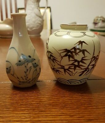 Two Korean vases Yi and Litan Dynasty Imperial Collection