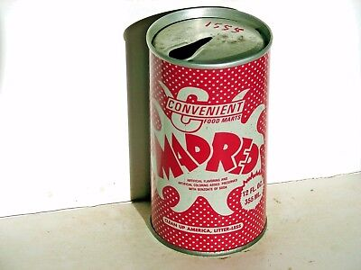 Convenient Mad Red; Inter-State Canning Co.; Louisville, KY; steel soda pop can