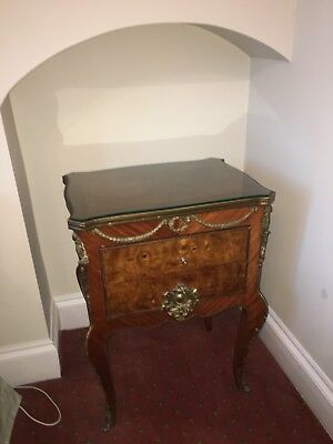Pair of French Renaissance Revival Bedside Tables