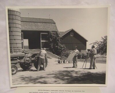 1950's Allis Chalmers Promotional Photo Eastman Kodak Company