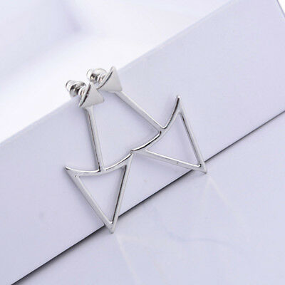 Han style simple fashion accessories Geometry triangle ear nail earring female