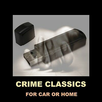 "Crime Classics. 51 ""True Crime"" Old Time Radio Shows For Your Car Or Home!"