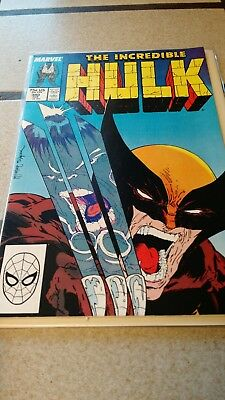 The Incredible Hulk #340 - Wolverine - First McFarlane Art - Delivery by 12/23
